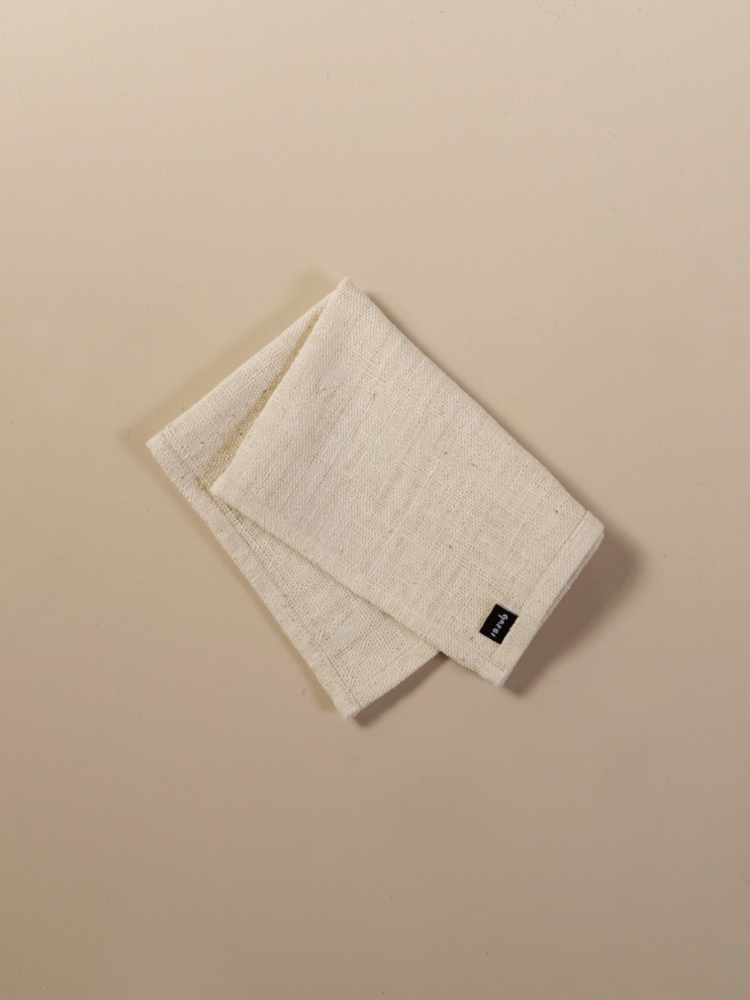 Hand-woven Placemat_Organic White