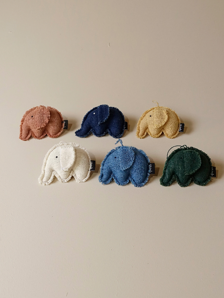 Organic Elephant Ornament