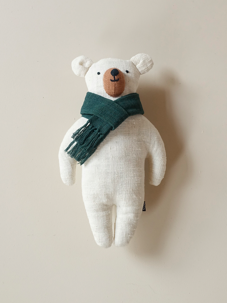 Organic Comfort Bear_Deep Green